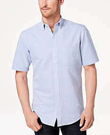 Club Room Men's Striped Shirt, Created for Macy's
