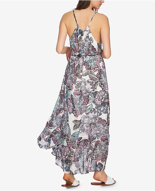 STATE Antiq Maxi 1 Dress Printed White 8nxUYdwqw1