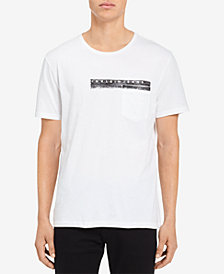 Calvin Klein Jeans Men's Logo-Print Pocket T-Shirt