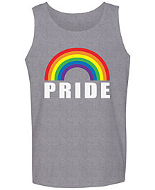 Pride Rainbow Men's Tank by Hybrid Apparel