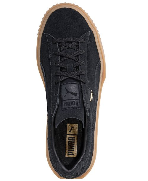 adc360d80c0e Puma Men s Breaker Suede Gum Casual Sneakers from Finish Line ...