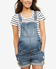 Motherhood Maternity Denim Overalls