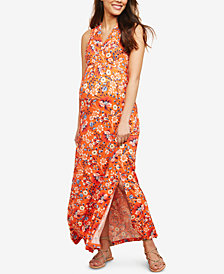 Motherhood Maternity Printed Maxi Dress