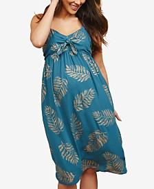 Motherhood Maternity Plus Size Twist-Front Dress
