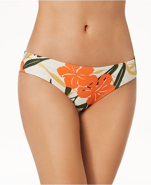 fd334d4c77 Vince Camuto Printed Shirred Cheeky Bikini Bottoms - Swimwear ...