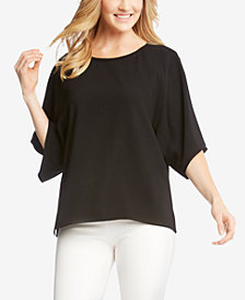 Karen Kane Drop-Shoulder Boxy Top