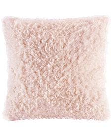 """Madison Park Nova 20"""" Square Faux-Mohair Decorative Pillow"""
