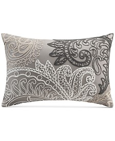 "INK+IVY Kiran Embroidered 12"" x 18"" Decorative Pillow"