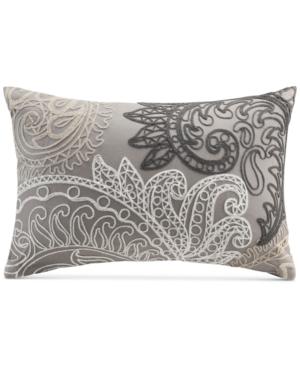 InkIvy Kiran Embroidered 12 x 18 Decorative Pillow