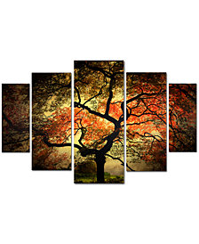 Philippe Sainte-Laudy 'Japanese' Large Multi-Panel Wall Art Set