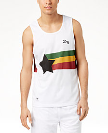 LRG Men's High Rankin Graphic-Print Mesh Jersey Tank