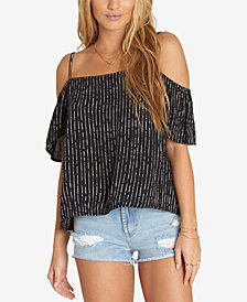 Billabong Juniors' Cold-Shoulder Top