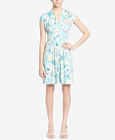 Catherine Catherine Malandrino Printed Fit & Flare Dress