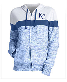 5th & Ocean Women's Kansas City Royals Space Dye Hoodie