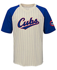 Outerstuff Chicago Cubs Game Tradition T-Shirt, Big Boys (8-20)