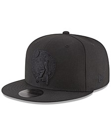 Boston Celtics Blackout 59FIFTY Fitted Cap