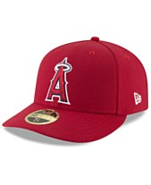 54f5d33f12ce9 New Era Los Angeles Angels Low Profile AC Performance 59FIFTY Fitted Cap