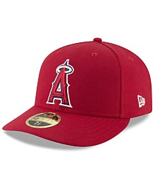 New Era Los Angeles Angels Low Profile AC Performance 59FIFTY Fitted Cap