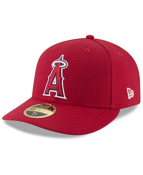 New Era Los Angeles Angels Low Profile AC Performance 59FIFTY Fitted ... cfddf52271c