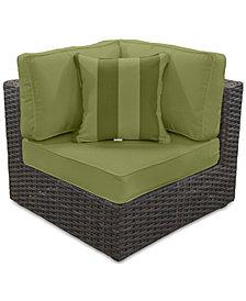 Viewport Outdoor Corner Unit--Custom Sunbrella® Colors, Created for Macy's