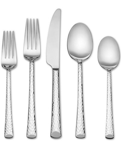 Skandia by Hampton Forge Vale Hammered 20-Pc. Flatware Set, Service for 4
