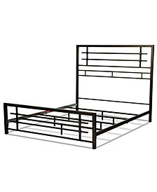 Colton-Queen Snap Bed, Quick Ship
