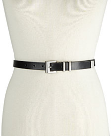 DKNY Double-Keeper Pant Belt, Created for Macy's
