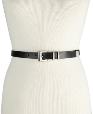 DOUBLE-KEEPER PANT BELT, CREATED FOR MACY'S