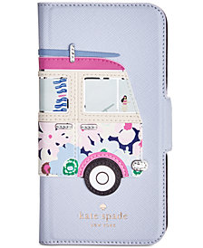 kate spade new york Surf Van Applique iPhone 8 Folio