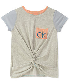 Calvin Klein Big Girls Colorblocked T-Shirt