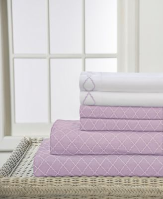 Revina Printed 4-Pc. Twin Sheet Set