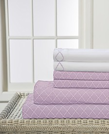 Elite Home Revina 6-Pc. Queen Sheet Set