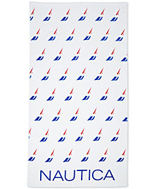 Nautica J-Class Beach Towel