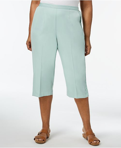 Capri Pants Dunner Pull Size Daydream Plus On Alfred Mint OF0qW