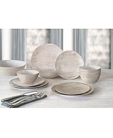 TarHong Carrara and French Oak Dinnerware Collection