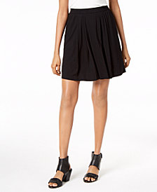 Eileen Fisher Stretch Jersey Pull-On Skort