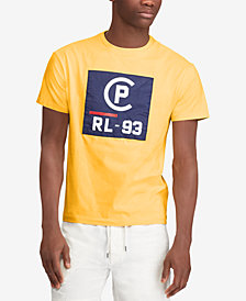 Polo Ralph Lauren Men's CP-93 Logo Graphic T-Shirt, Created for Macy's