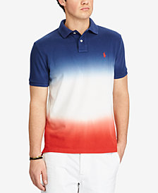 Polo Ralph Lauren Men's Dip Dyed Classic Fit Mesh Polo