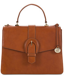 Brahmin Gabriella Honey Top Handle Shoulder Bag