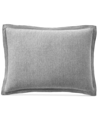 Linen Standard Sham, Created for Macy's