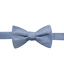 Ryan Seacrest Distinction™ Men's Textural Pre-Tied Bow Tie, Created for Macy's