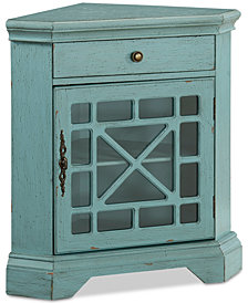 Bayberry Corner Cabinet, Quick Ship