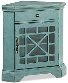 Bayberry Corner Cabinet, Quick Ship