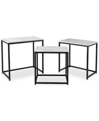 Ponga 3-Pc. Square Nesting Table Set