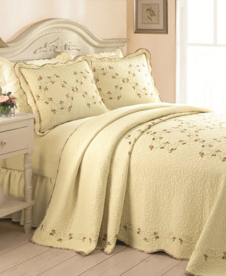 Closeout Rose Garden Bedspreads Quilts Amp Bedspreads