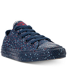 Converse Little Boys' Chuck Taylor Ox Splatter Casual Sneakers from Finish Line