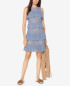 MICHAEL Michael Kors Ruffled Lace Dress