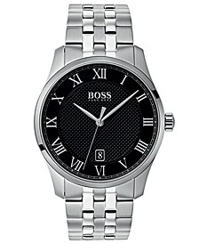 Hugo Boss Men's Master Stainless Steel Bracelet Watch 41mm