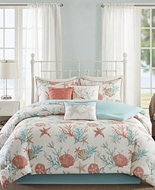 Madison Park Pebble Beach 7-Pc. Queen Comforter Set