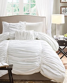 Delancey 4-Pc. Full/Queen Duvet Cover Set